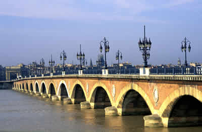 Bridge in Bordeaux